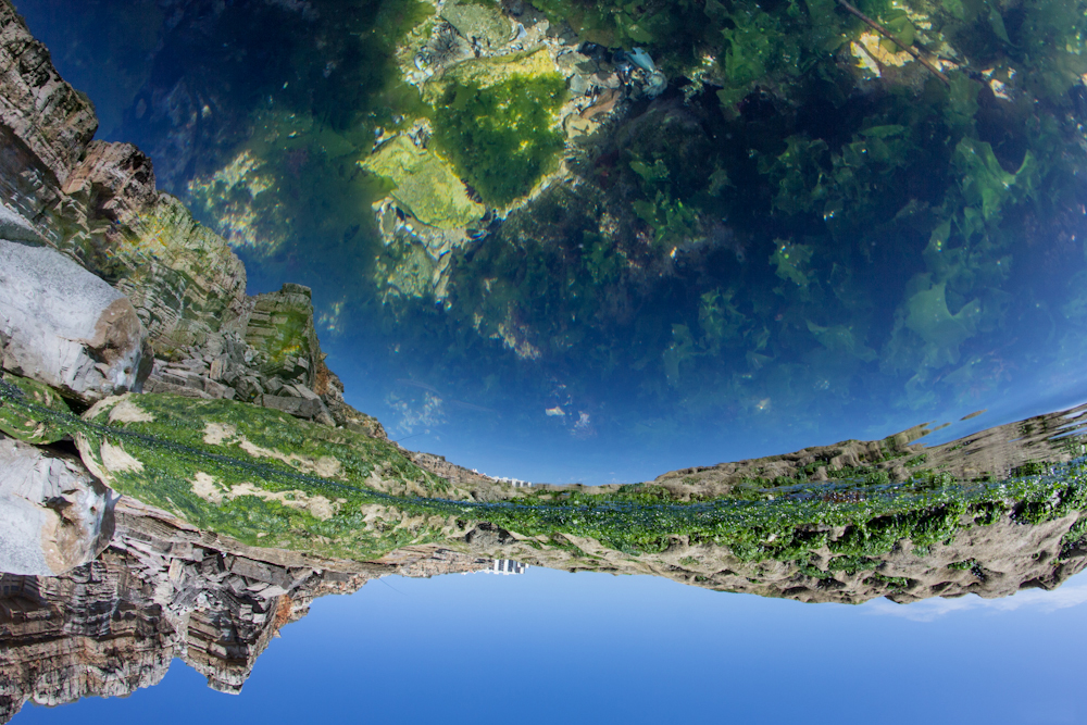 michele catena photography landscape abstract portugal upside down world boca do inferno