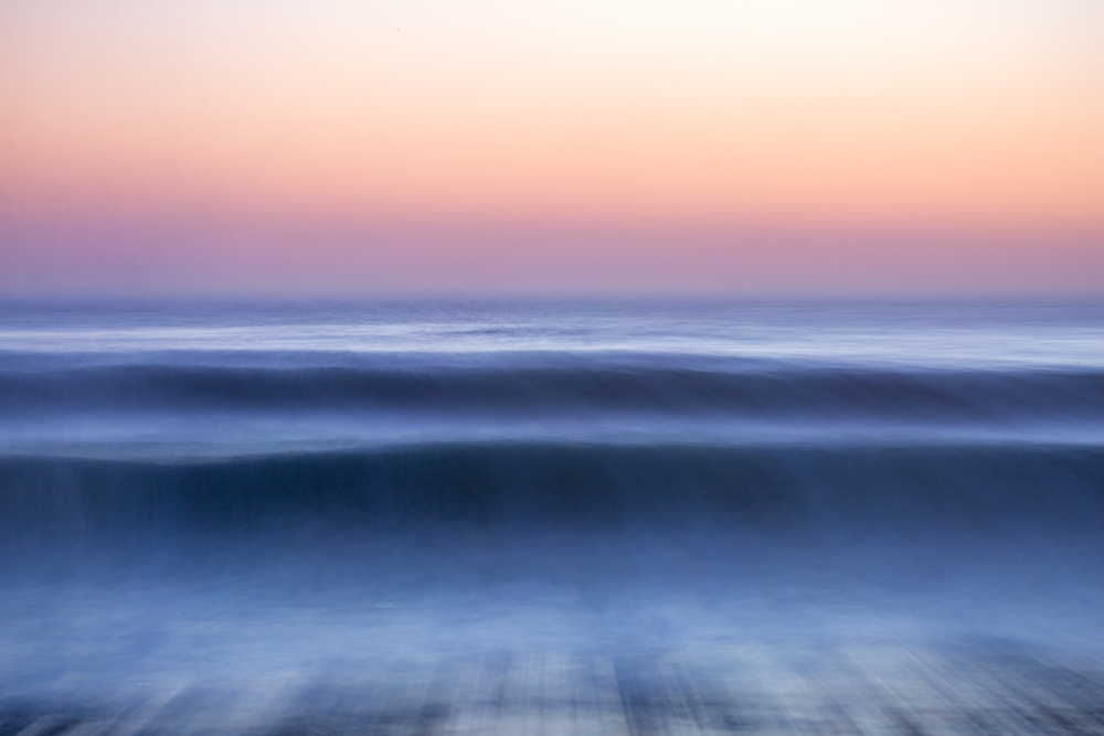 michele catena photography abstract portugal panning caparica sunset wave