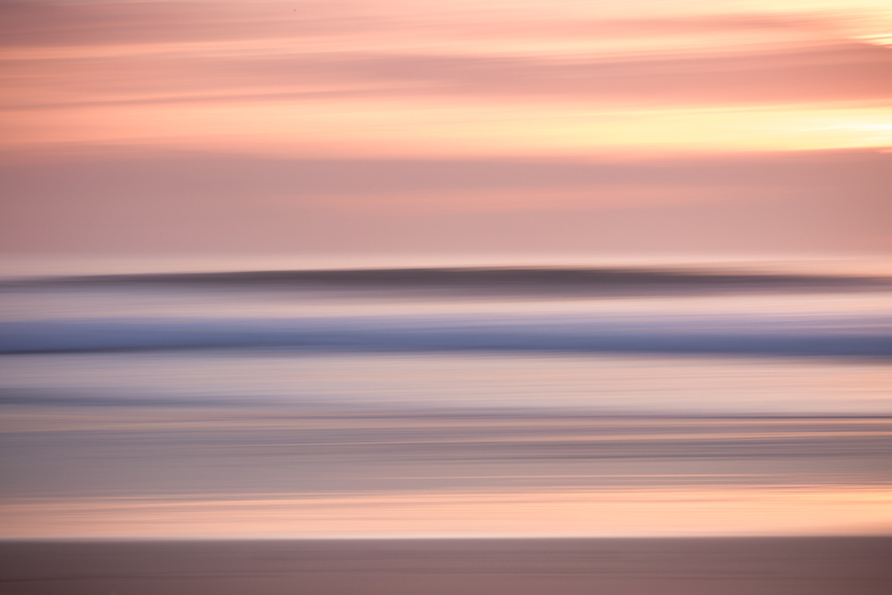 michele catena photography abstract portugal panning carcavelos sunset
