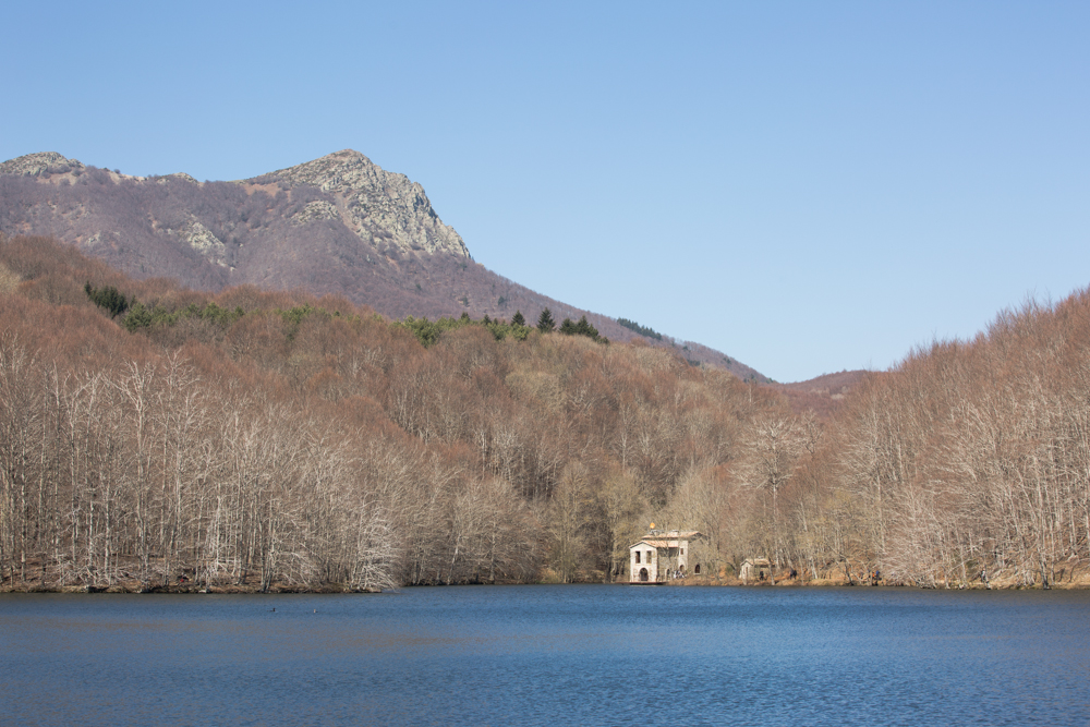 Michele Catena - Landscape Lake Montseny 2