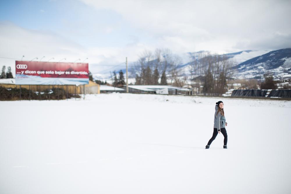 Michele Catena - Maria Jansa Ad Audi Snow Lifestyle